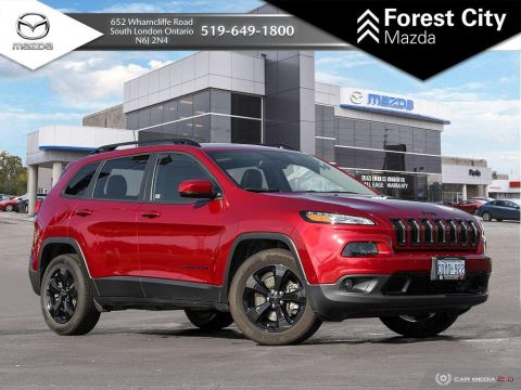 Pre-Owned 2017 Jeep Cherokee HIGH ALTITUDE | DEMO