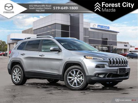 Pre-Owned 2017 Jeep Cherokee LIMITED | DEMO