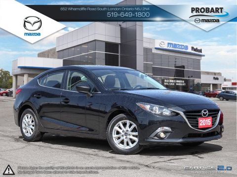 Pre-Owned 2015 Mazda 3 | GX | A/C | Power Group FWD Hatchback