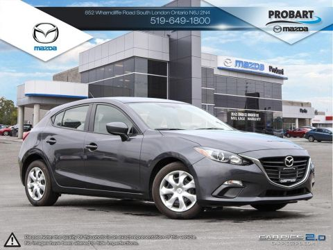 Pre-Owned 2015 Mazda 3 Sport | GX | A/C | Power Group FWD Hatchback