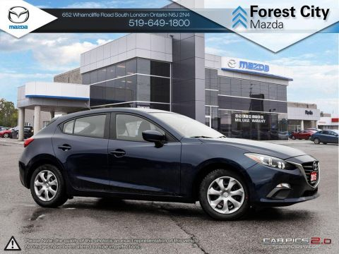 Pre-Owned 2015 Mazda 3 | GX | A/C | Power Group | Bluetooth | Keyless Start