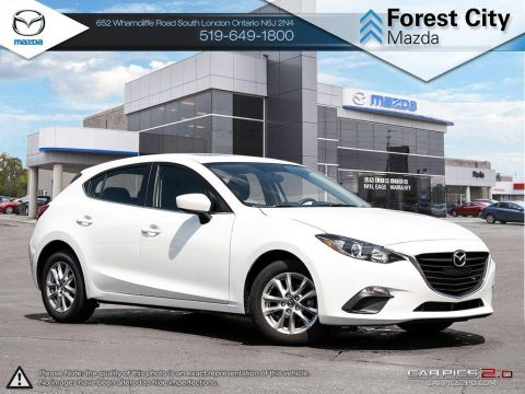 Pre-Owned 2016 Mazda 3 | GS | Backup Camera | Cruise | Bluetooth FWD Hatchback