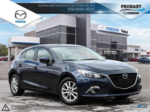 Pre-Owned 2015 Mazda 3 | GS | Cruise | Bluetooth | Backup Camera FWD Hatchback