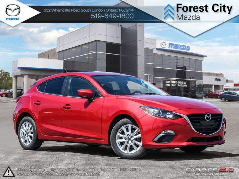 Pre-Owned 2015 Mazda 3 | GS | Cruise | Bluetooth FWD Hatchback