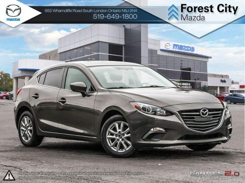 Pre-Owned 2015 Mazda 3 | GS | Cruise | Bluetooth | Heated Seats | Backup Camera FWD Hatchback