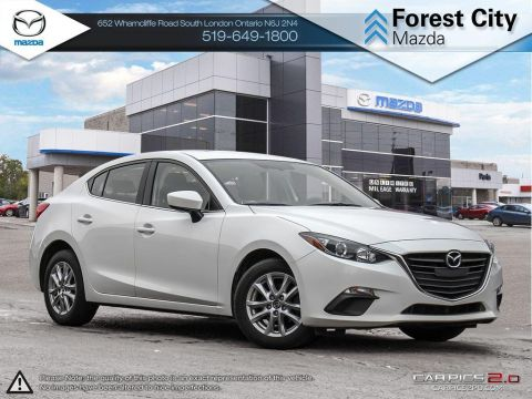 Pre-Owned 2015 Mazda 3 | GS | Cruise | Bluetooth | Heated Seats FWD 4dr Car