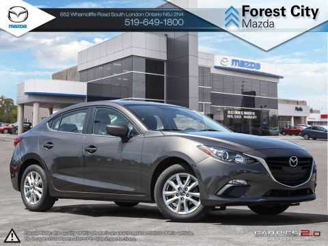 Pre-Owned 2015 Mazda 3 | GS | Cruise | Bluetooth FWD 4dr Car