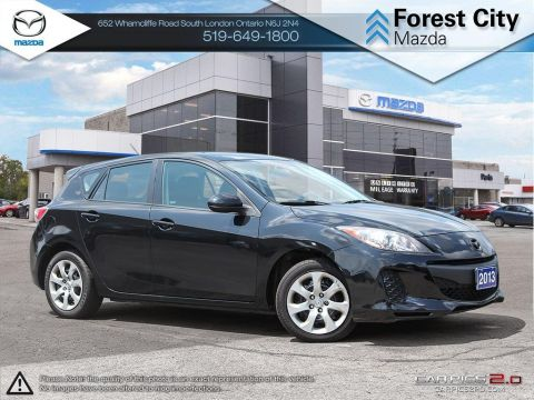 Pre-Owned 2013 Mazda 3 | GX | A/C | Power Group FWD Hatchback