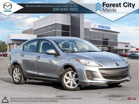 Pre-Owned 2013 Mazda 3 | GX | A/C | Power Group FWD 4dr Car