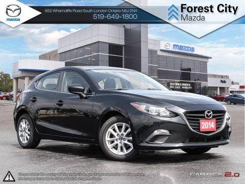 Pre-Owned 2014 Mazda 3 | GS | Cruise | Bluetooth FWD Hatchback