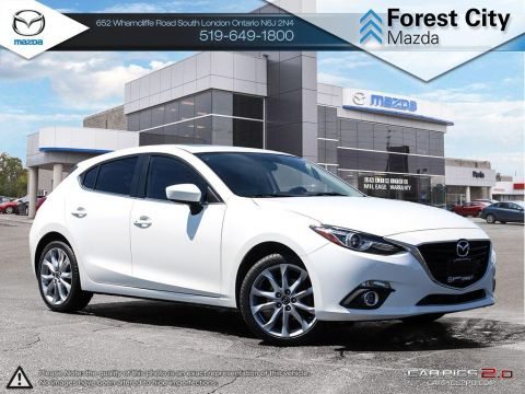 Pre-Owned 2014 Mazda 3 | GT | ONLY $140 Biweekly* FWD Hatchback