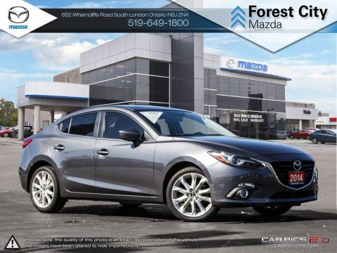 Pre-Owned 2014 Mazda 3 | GT | ONLY $135 Biweekly* FWD 4dr Car