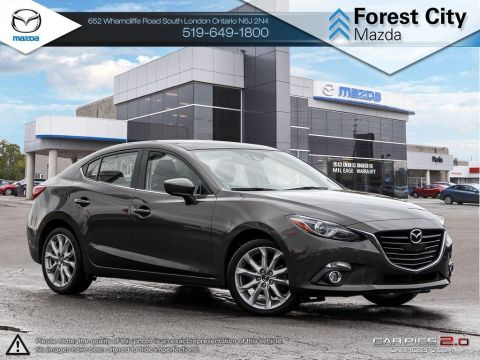 Pre-Owned 2015 Mazda 3 | GT | Rare Tech Package | Leather | Roof | Loaded FWD 4dr Car