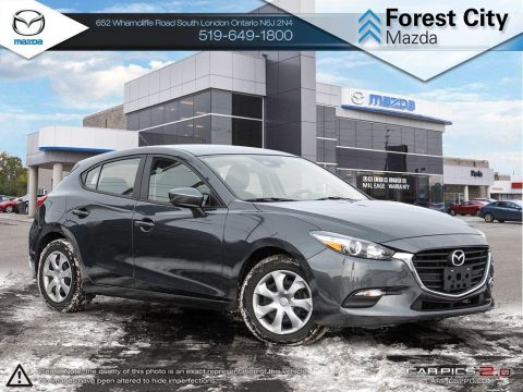 Pre-Owned 2018 Mazda 3 Sport | GX | Cruise | Bluetooth FWD Hatchback