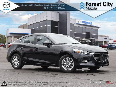 Pre-Owned 2017 Mazda 3 | SE | Leather | Heated Seats | Bluetooth | Backup Camera FWD 4dr Car