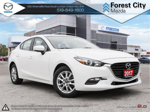 Pre-Owned 2017 Mazda 3 | SE | LEATHER | HEATED SEATS | CRUISE | BLUETOOTH