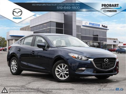 Pre-Owned 2017 Mazda 3 | SE | Leatherette | Cruise | Bluetooth FWD 4dr Car