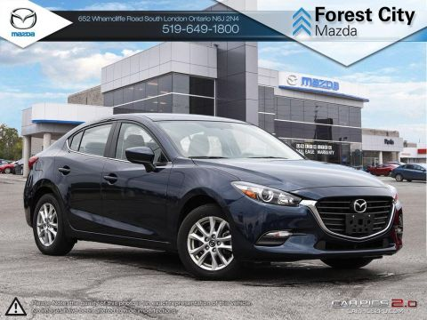 Pre-Owned 2017 Mazda 3 | SE | Leatherette | Cruise | Bluetooth