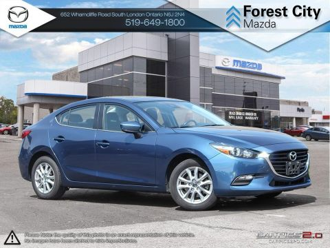 Pre-Owned 2017 Mazda 3 | GS | Auto | Blindspot Detection | Cruise | Bluetooth