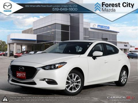 Pre-Owned 2017 Mazda3 GS | Cruise Control | Back-Up Camera | Cross-Traffic Alert