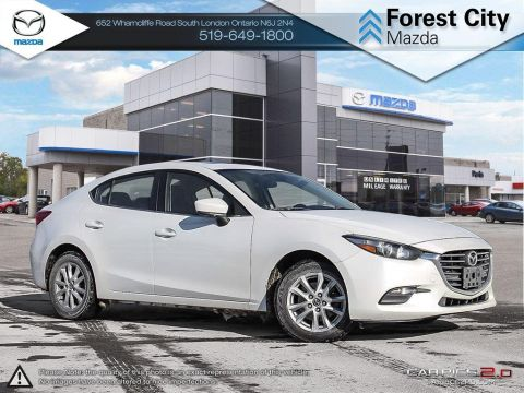 Pre-Owned 2017 Mazda 3 | GS | Moonroof | Heated Seats | Backup Camera | FWD 4dr Car