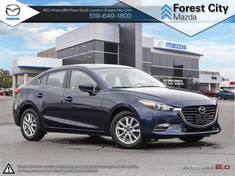 Pre-Owned 2018 Mazda 3 | GS | Cruise | Backup Camera | Blindspot | Smart Braking FWD 4dr Car