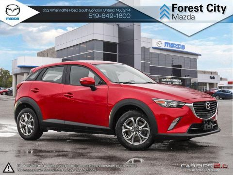 Pre-Owned 2017 Mazda CX-3 | GS | Sunroof | Heated Seats | Backup Camera