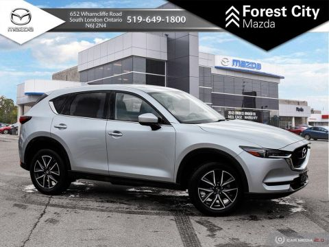 Pre-Owned 2018 Mazda CX-5 | GT | Leather | Moonroof | Heated Seats