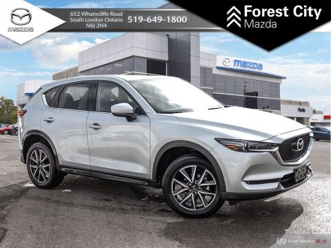 Pre-Owned 2018 Mazda CX-5 | GT | Leather | Moonroof | Cruise | Bluetooth