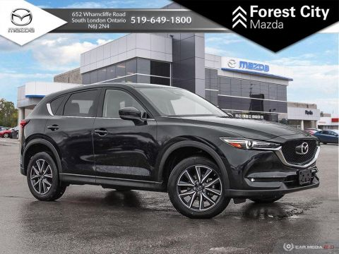 Pre-Owned 2018 Mazda CX-5 | GT | Leather | Sunroof | Blindspot | Navigation