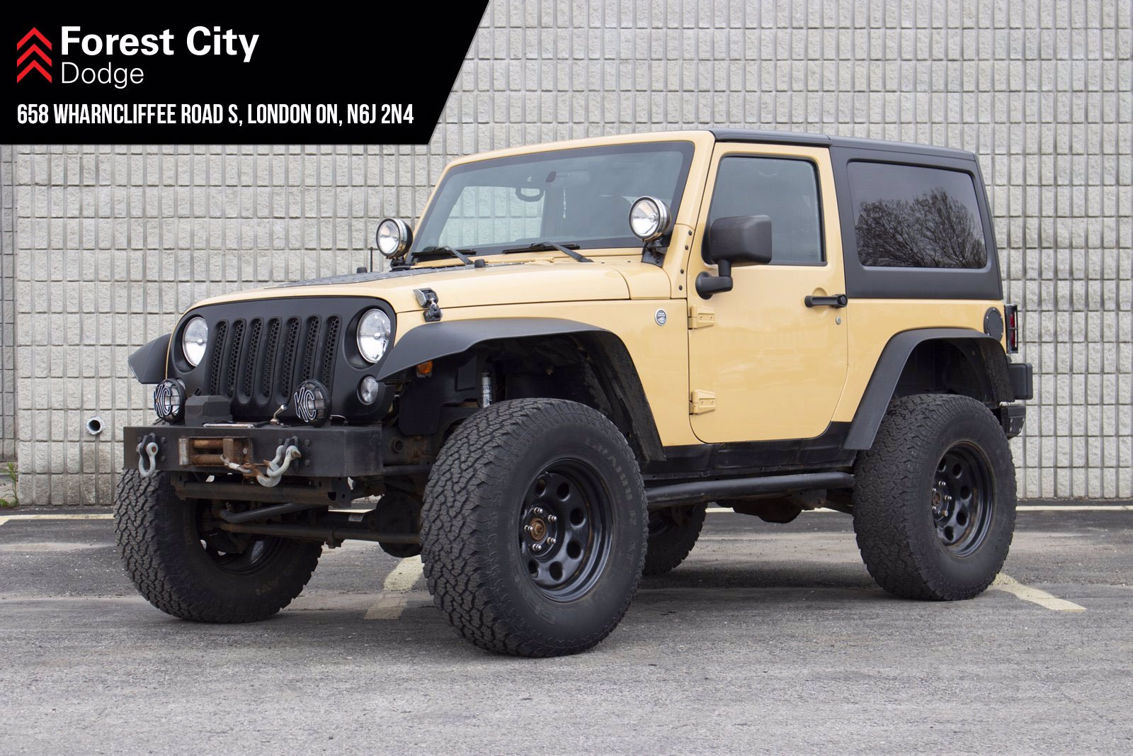 Pre-Owned 2014 Jeep Wrangler SPORT | AS-IS | 4X4 | 2DR