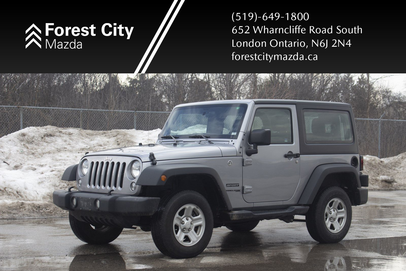Pre-Owned 2018 Jeep Wrangler JK Sport,AUTOMATIC,4X4