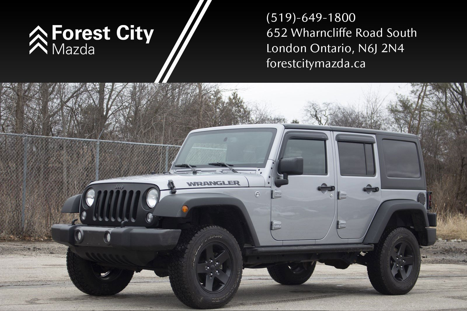 Pre-Owned 2016 Jeep Wrangler Unlimited Sport,AUTOMATIC,4X4,AIR CONDITIONING