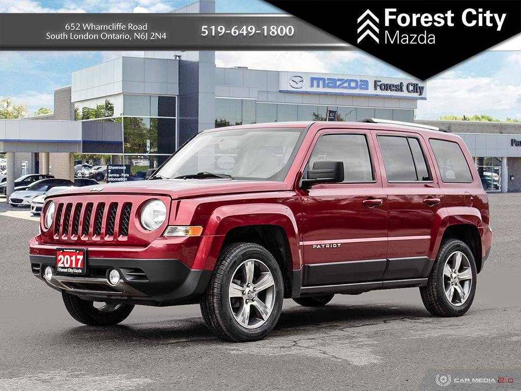 Pre-Owned 2017 Jeep Patriot High Altitude Edition | Leather Interior | Heated Seats | Sunroof