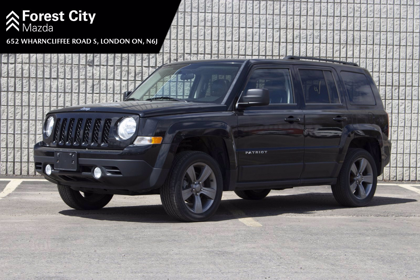 Pre-Owned 2015 Jeep Patriot AS-IS, High Altitude,LEATHER,SUNROOF,