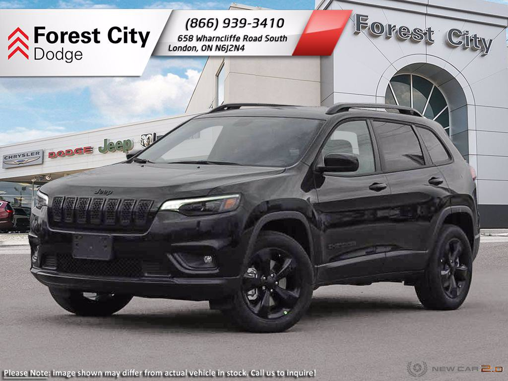 Pre-Owned 2020 Jeep Cherokee Altitude - DEMO