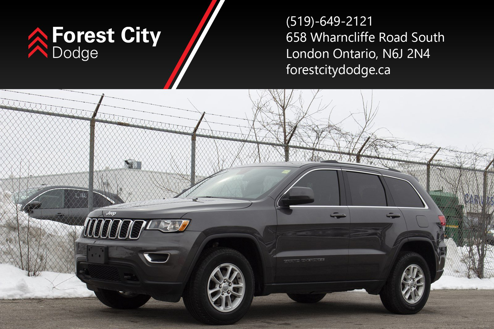 Pre-Owned 2018 Jeep Grand Cherokee Laredo - Previous Daily Rental