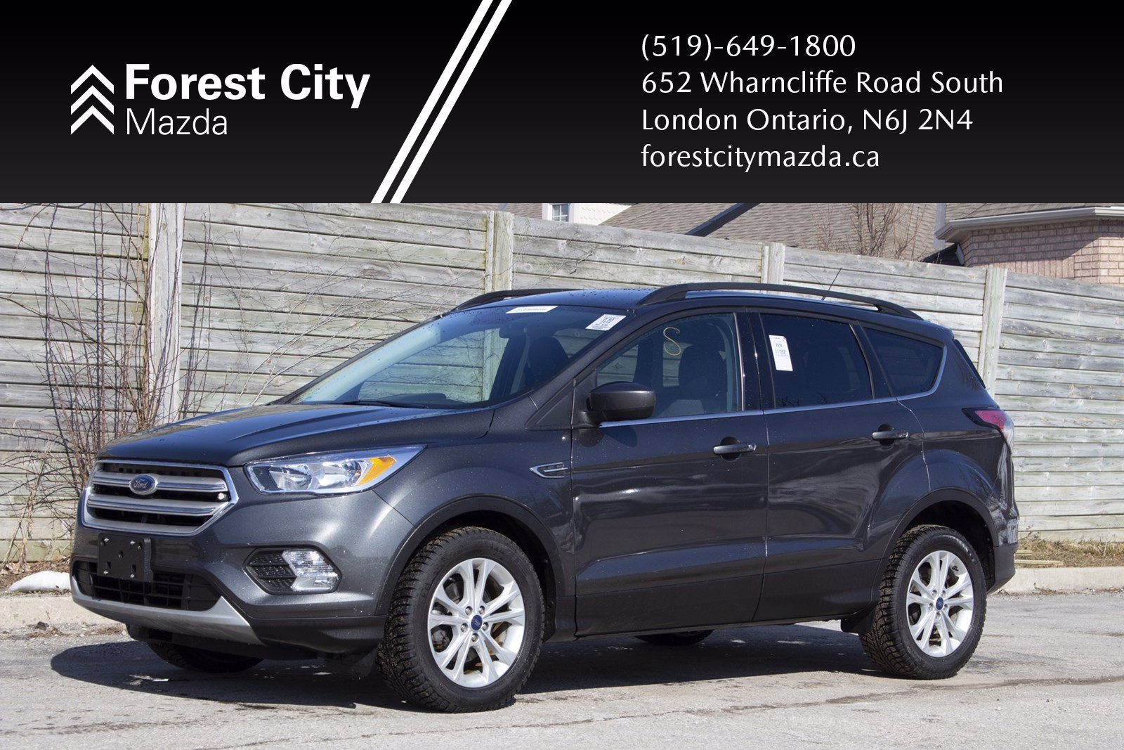 Pre-Owned 2018 Ford Escape SE | Previous Daily Rental,AUTOMATIC,ALLOYS