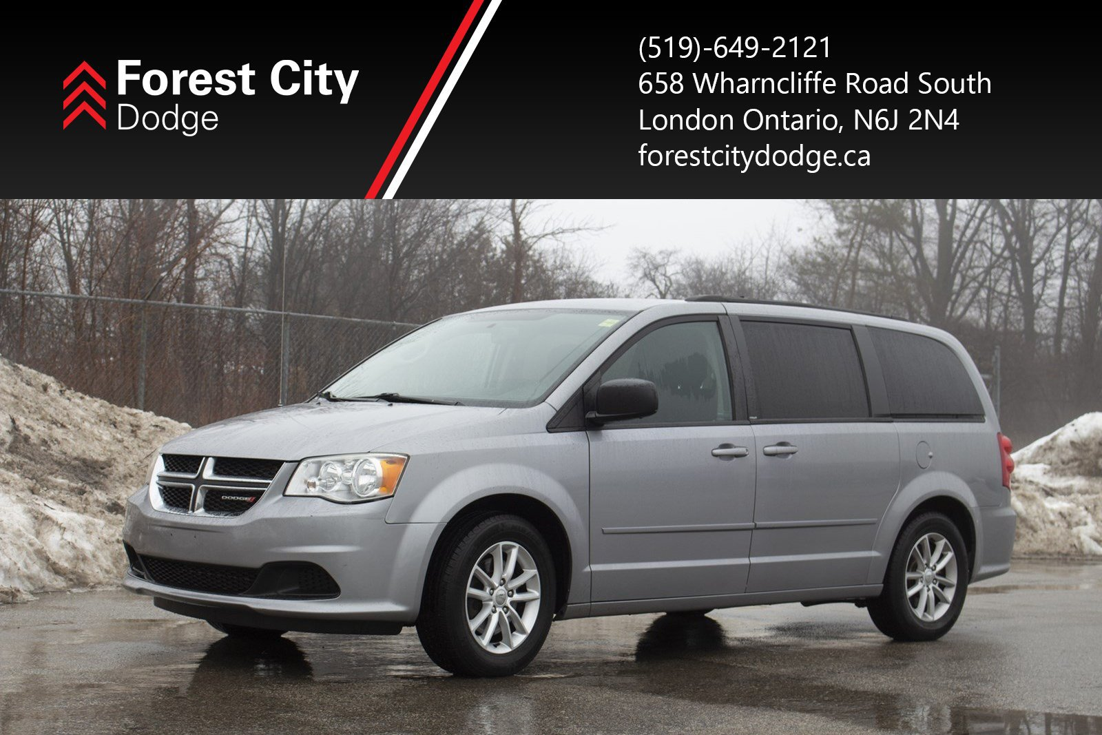 Pre-Owned 2013 Dodge Grand Caravan SXT | Back seat DVD player | Lots of Storage | Great Family Vehicle