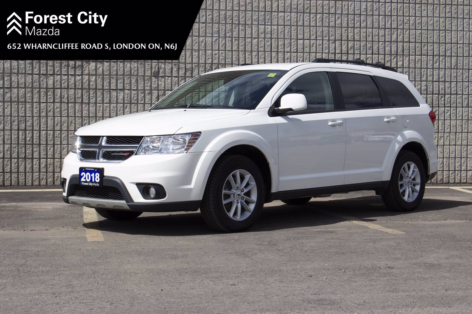 Pre-Owned 2018 Dodge Journey SXT | 7 PASSENGER | ALLOY WHEELS | BLUETOOTH | KEYLESS ENTRY