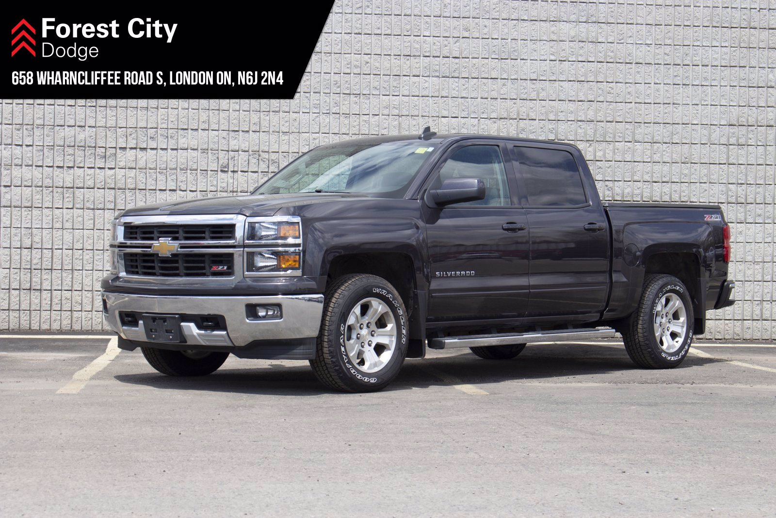 Pre-Owned 2015 Chevrolet Silverado 1500 LT | CREW CAB | 4X4 | REMOTE ENTRY | AIR CONDITIONING
