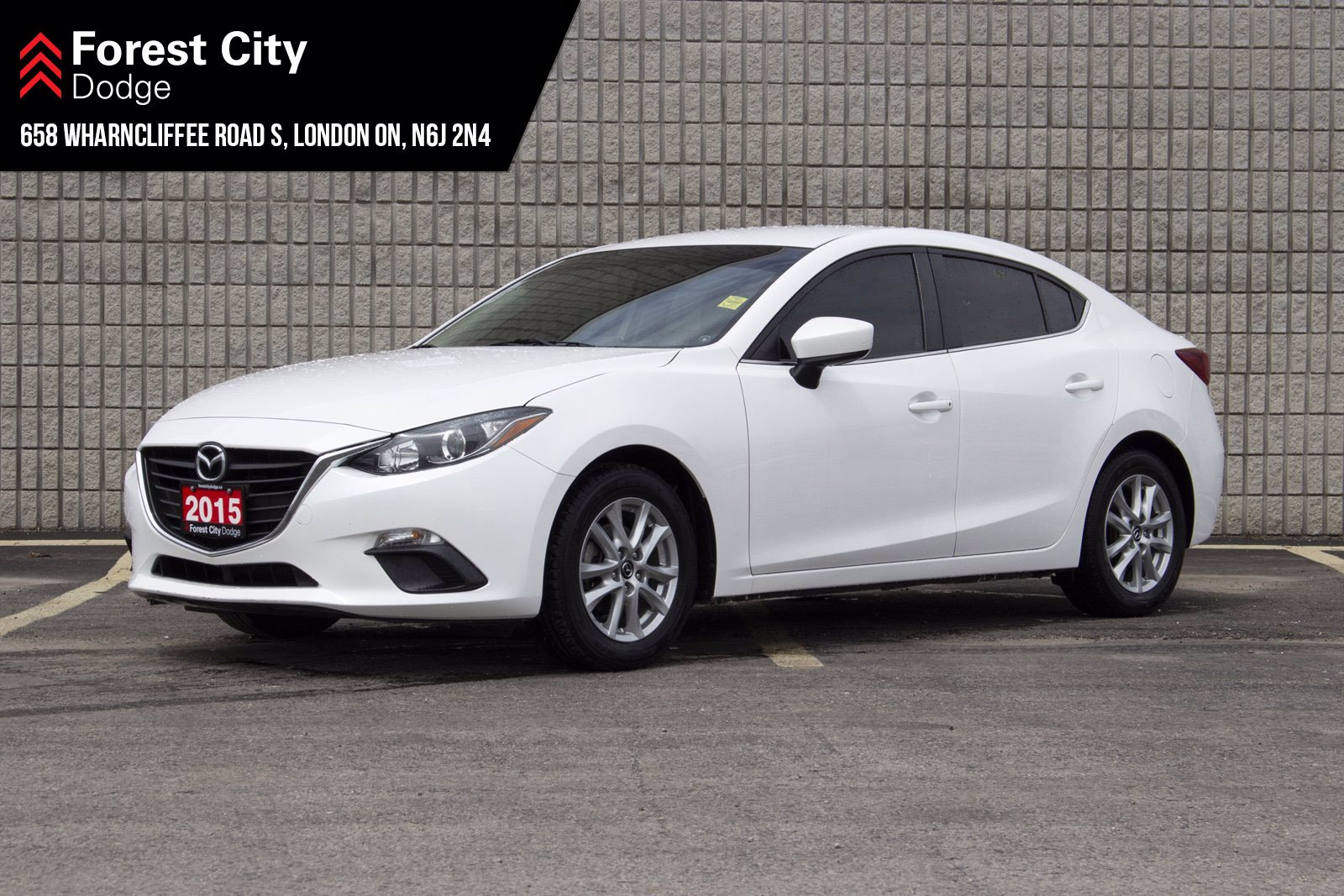 Pre-Owned 2015 Mazda3 GS | FWD | KEYLESS ENTRY | BLUETOOTH | REAR VIEW CAM