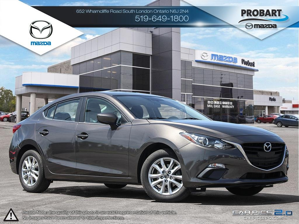 Pre-Owned 2015 Mazda 3 | GS | Cruise | Bluetooth