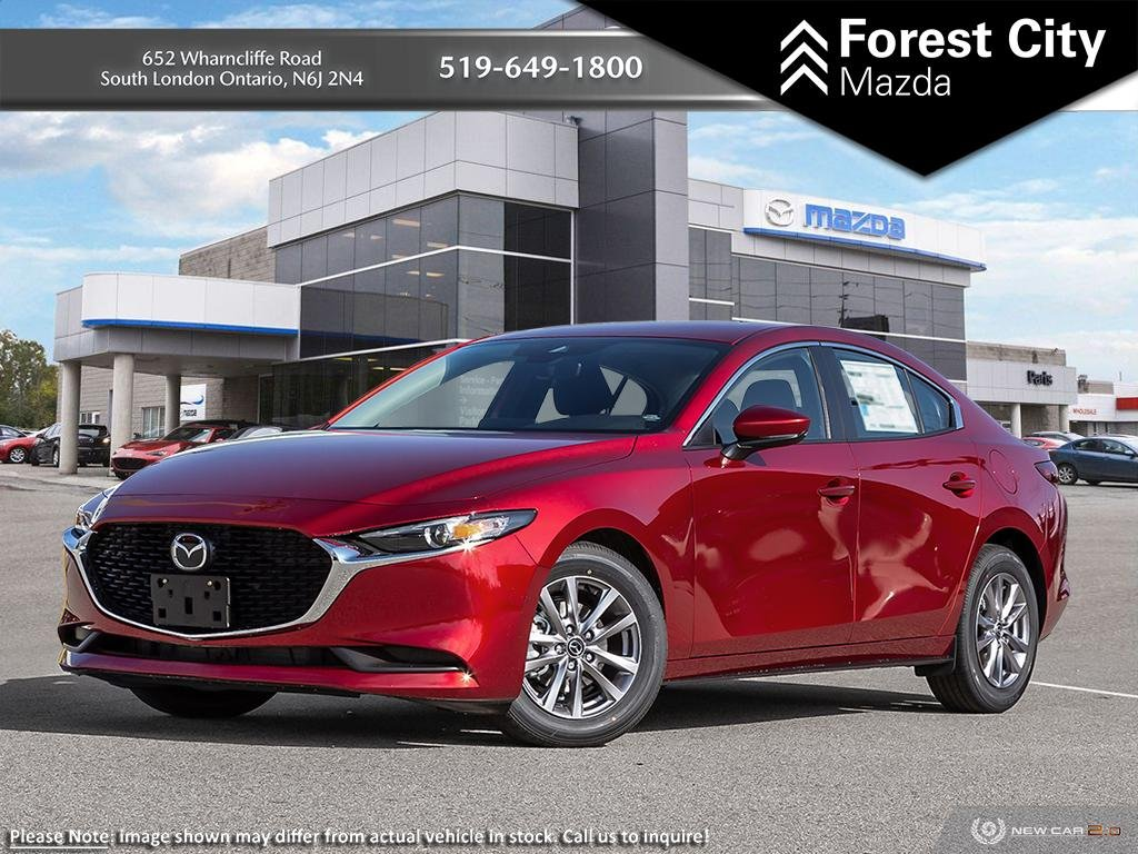 New 2019 Mazda3 GS | Soul Red Crystal Metallic | FWD | Blind Spot Monitoring | Bluetooth | Push To Start