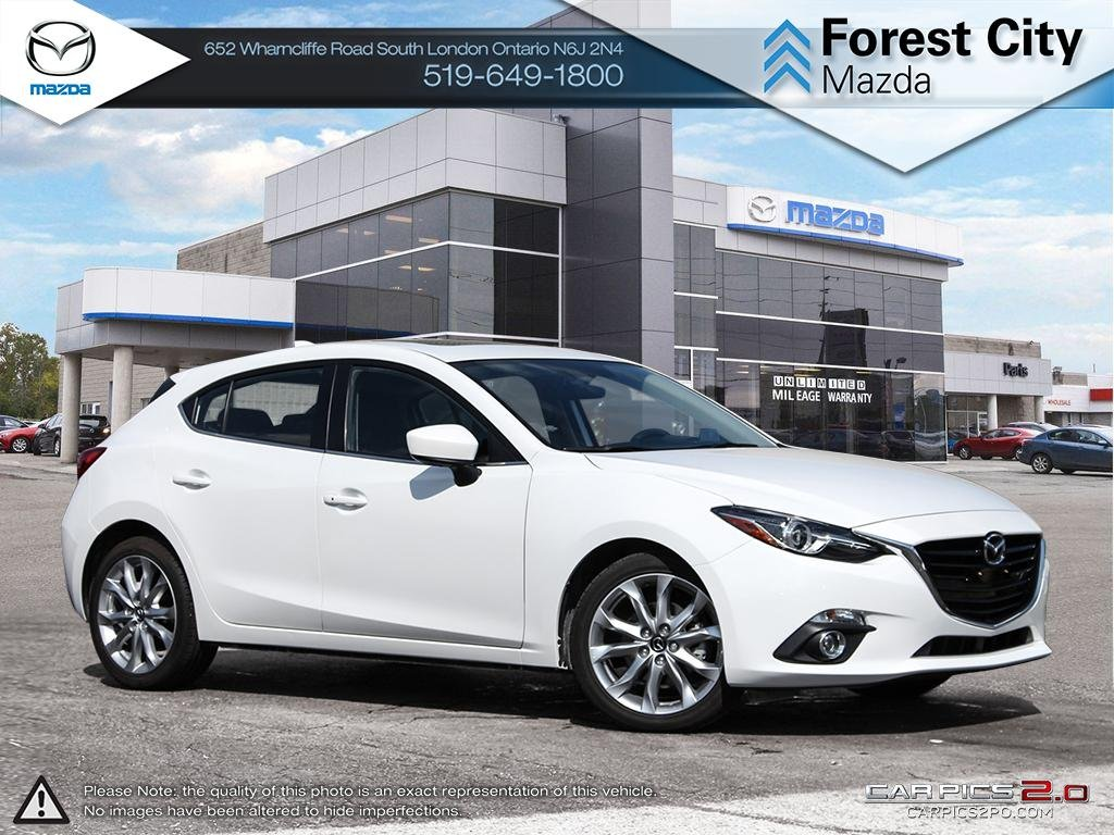 Pre-Owned 2016 Mazda 3 | GT | Moonroof | Navigation | RARE Manual Transmission