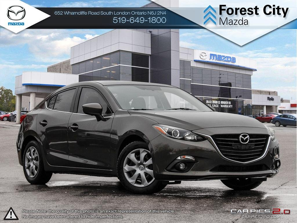 Pre-Owned 2014 Mazda 3 | GS | Heated Seats | Moonroof | Cruise