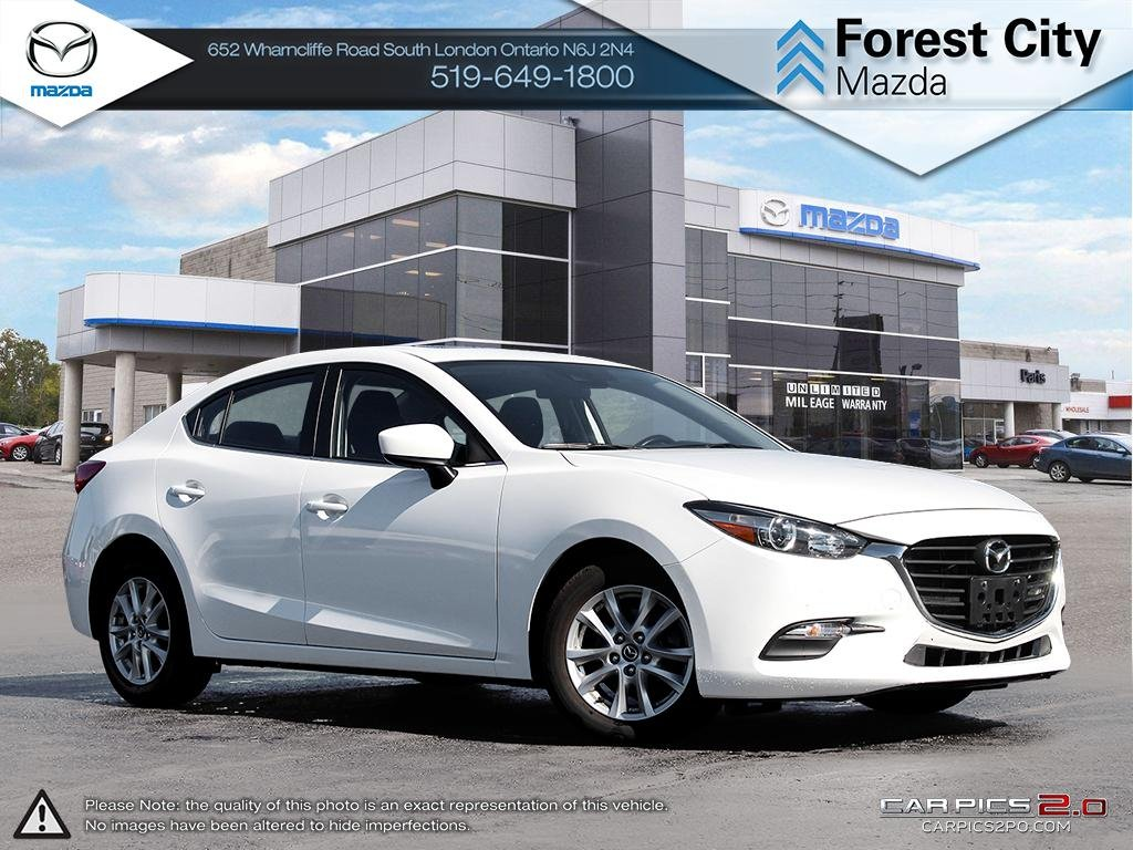 Pre-Owned 2017 Mazda 3 | GS | Cruise | Backup Camera | Heated Seats | Blindspot Detection