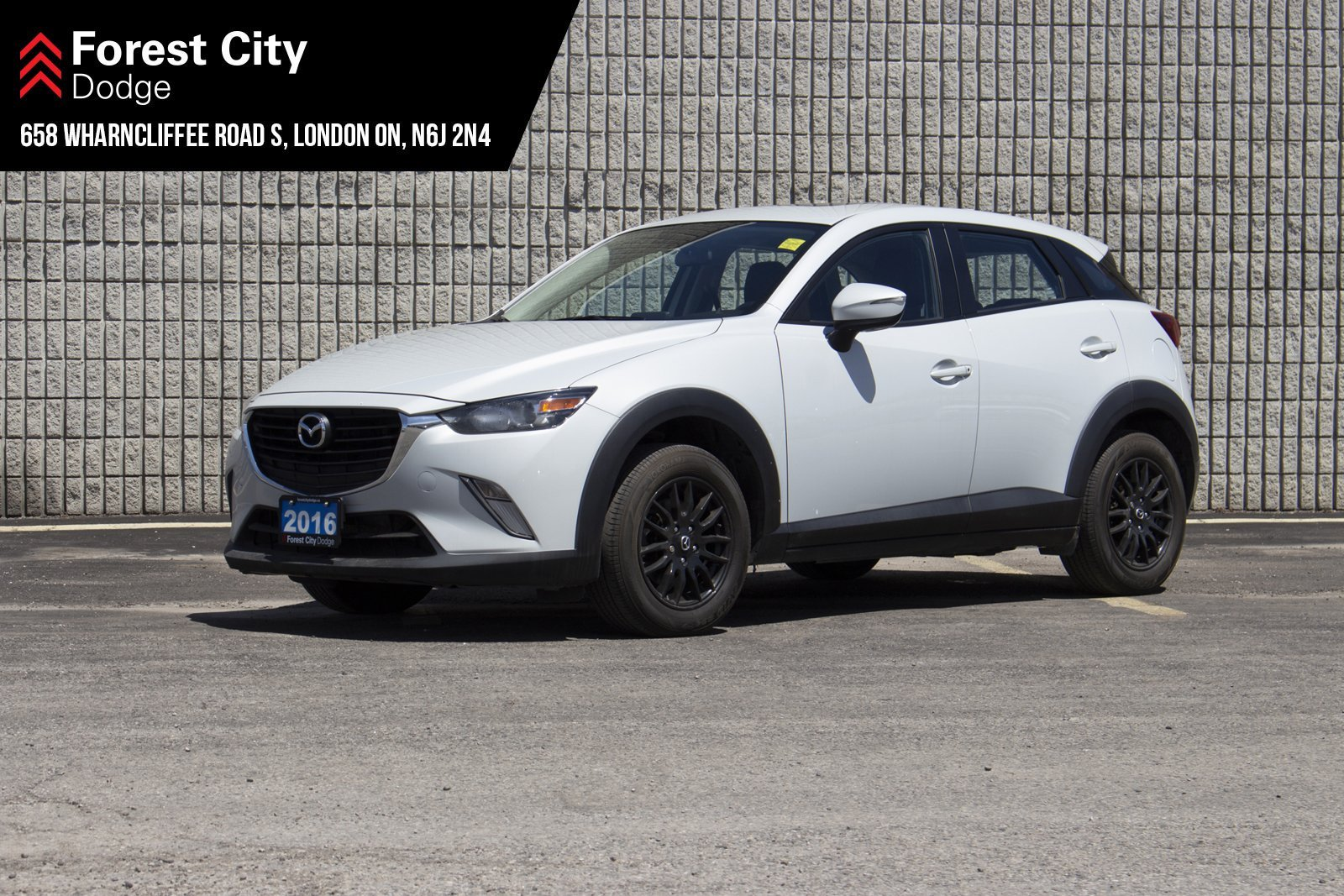 Pre-Owned 2016 Mazda CX-3 GS | MOONROOF | LEATHER | NAVIGATION | AWD