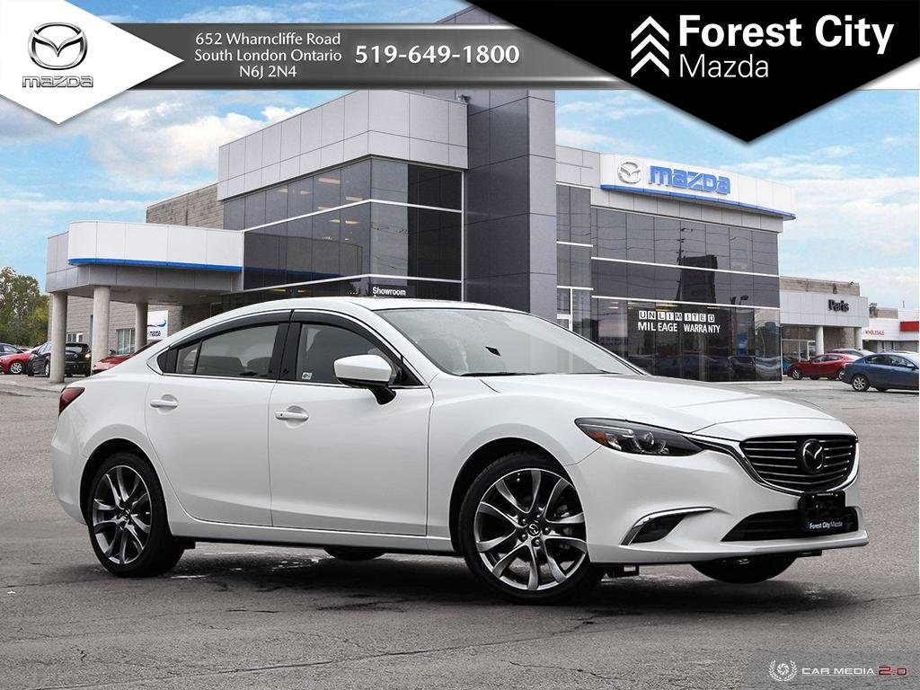 Pre-Owned 2017 Mazda 6 | GT | Leather | Moonroof | Premium Package