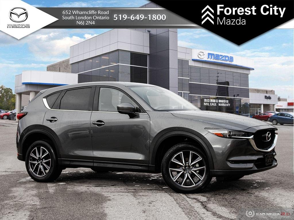 Pre-Owned 2018 Mazda CX-5 | GT | Back-Up Camera | Navigation System | Cross-Traffic Alert | Cruise